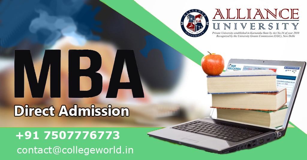 MBA Direct admission in Alliance School of Business, Bangalore through Management Quota