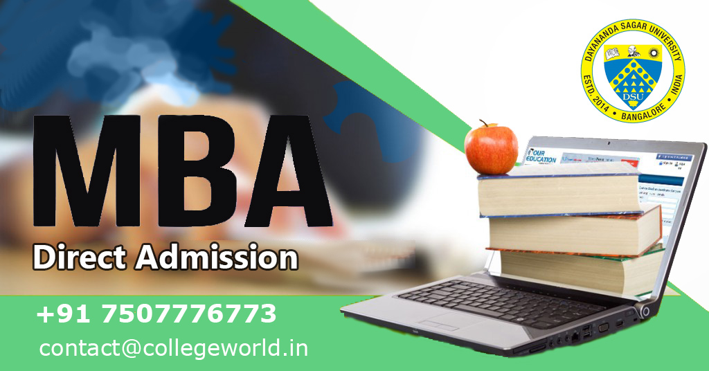 MBA Direct admission in Dayananda Sagar College of Management, Bangalore through Management Quota