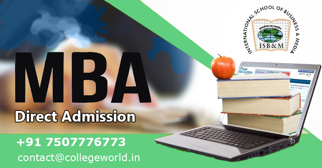 PGDM Direct Admission in International School of Business & Media (ISBM), Pune through Management Quota