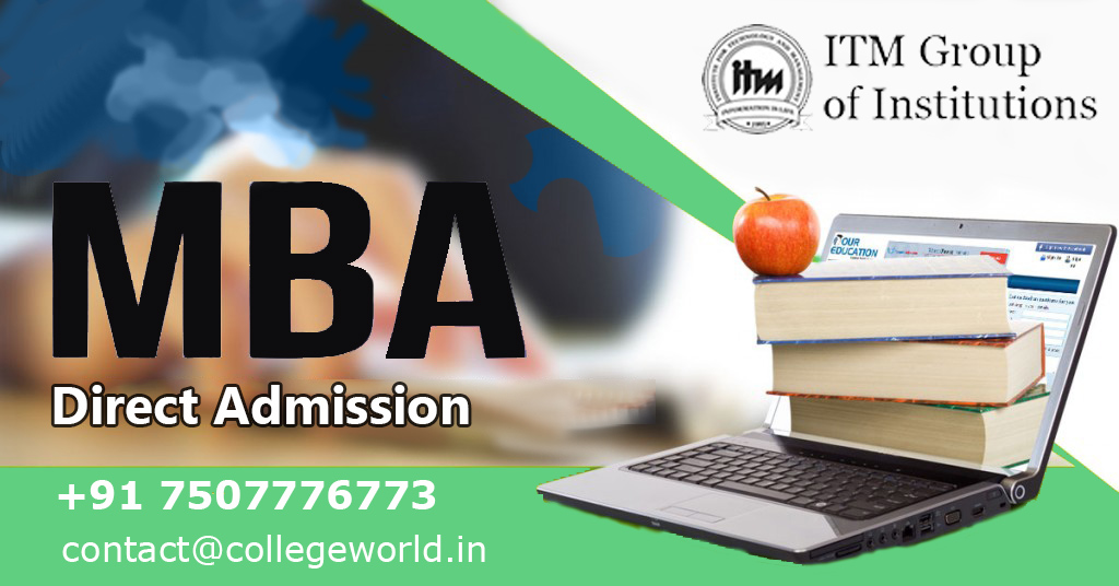 MBA Direct Admission in ITM Group Of Institute Navi Mumbai Through Management Quota