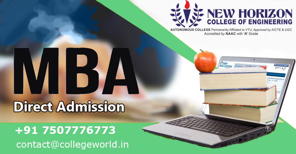 MBA Direct admission in New Horizon Educational Institution, Bangalore through Management Quota