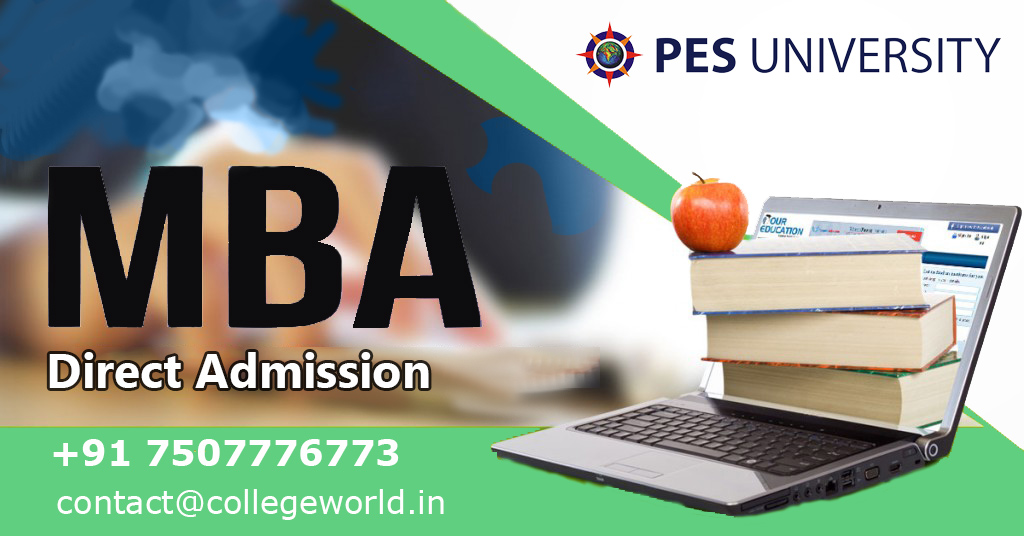 MBA Direct admission in PES University, Bangalore through Management Quota